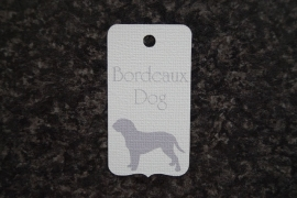 Label Bordeaux Dog