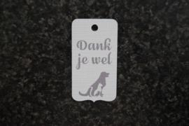 Label Dank je wel Huisdieren