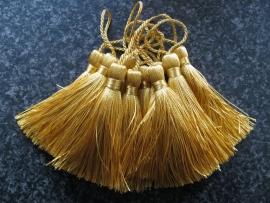 Luxe tassel Geel Goud