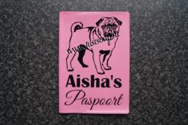 Paspoorthoesje Mopshond