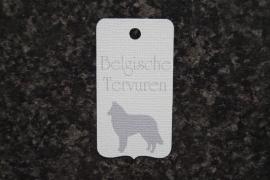Label Belgische Tervuren