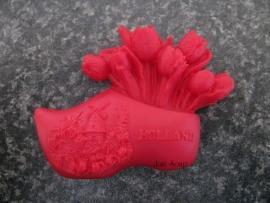 Klomp met tulpen 4