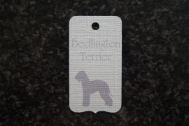 Label Bedlington Terrier
