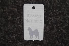 Label Alaskan Malamute