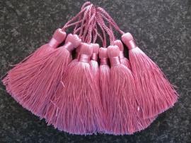 Luxe tassel Roze