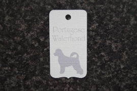 Label Portugese Waterhond