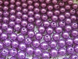 Acryl parels paars 10mm
