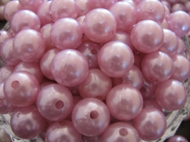 Acryl parel roze 14mm