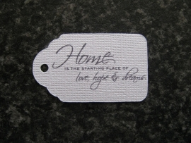 Label Home is the starting place