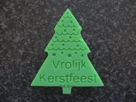 Kerstboom Vrolijk Kerstfeest