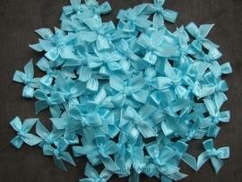 Strikjes Licht Turquoise 2,5 cm