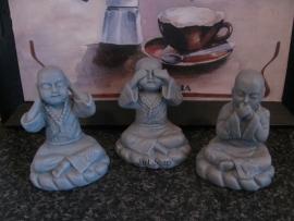 Monniken horen zien zwijgen