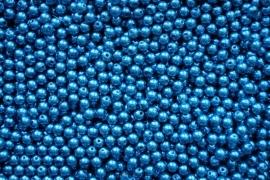 Acryl parels blauw 8mm ( 20 stuks )