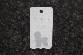 Label Bichon Frise