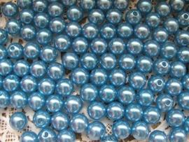 Acryl parels turquoise 2  10mm