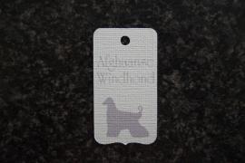 Label Afghaanse Windhond