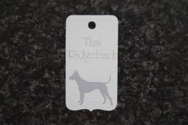 Label Thai Ridgeback