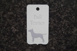 Label Bull Terrier