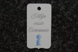 Label Mijn eerste Communie Jongen