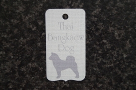 Label Thai Bangkaew Dog