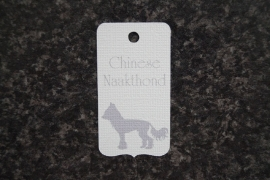 Label Chinese Naakthond