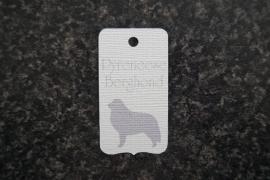 Label Pyreneese Berghond
