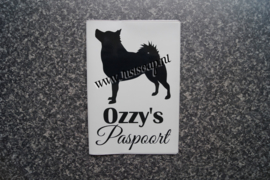 Paspoorthoesje Schipperke 1