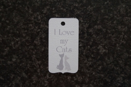 Label I love my Cats