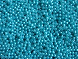 Acryl parels Turquoise 8mm ( 20 stuks )