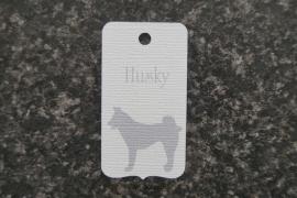 Label Husky
