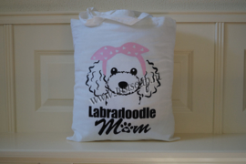 Schoudertas Labradoodle mom
