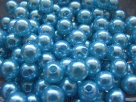 Acryl parels turquoise 10mm