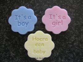 Bloemetje It's a Boy