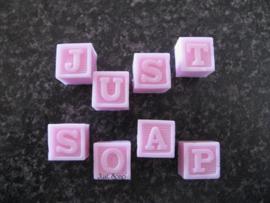 Zeepmal Alfabet blokjes klein (First Impressions)
