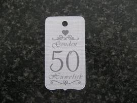 Label 50 Gouden Huwelijk