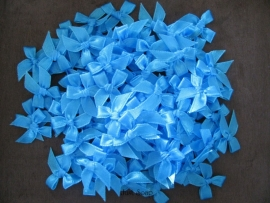 Strikjes Turquoise 2,5 cm
