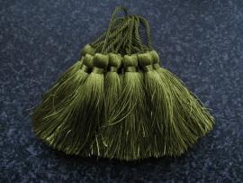 Luxe tassel Peridot Groen