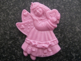 Engel meisje met hart