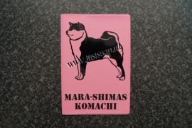 Paspoorthoesje Shiba Inu 1