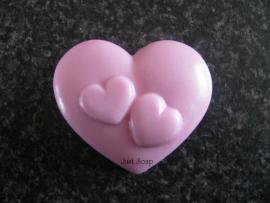 Hart met hartjes