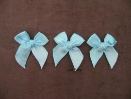 Strikjes Turquoise 3 cm