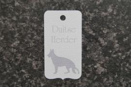 Label Duitse herder