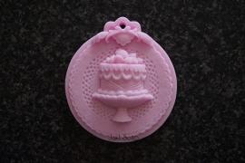 Cupcake op Medaillon