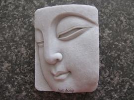 Boeddha hoofd in relief