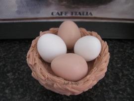 Zeepmal Eieren 6 in de mal (Egbhouse)