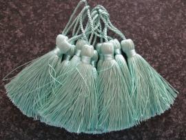 Luxe tassel Mint Groen