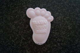 It's a Girl Baby Shower voetje