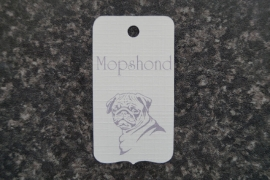 Label Mopshond 2