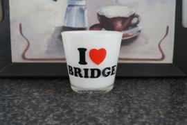 Waxinelichtje I ♥ Bridge