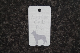 Label Australian Cattle Dog